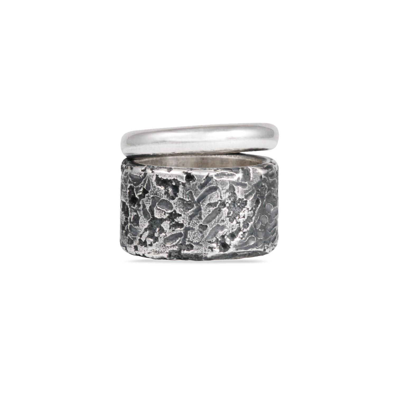 Creneidi - Rawsen silver ring