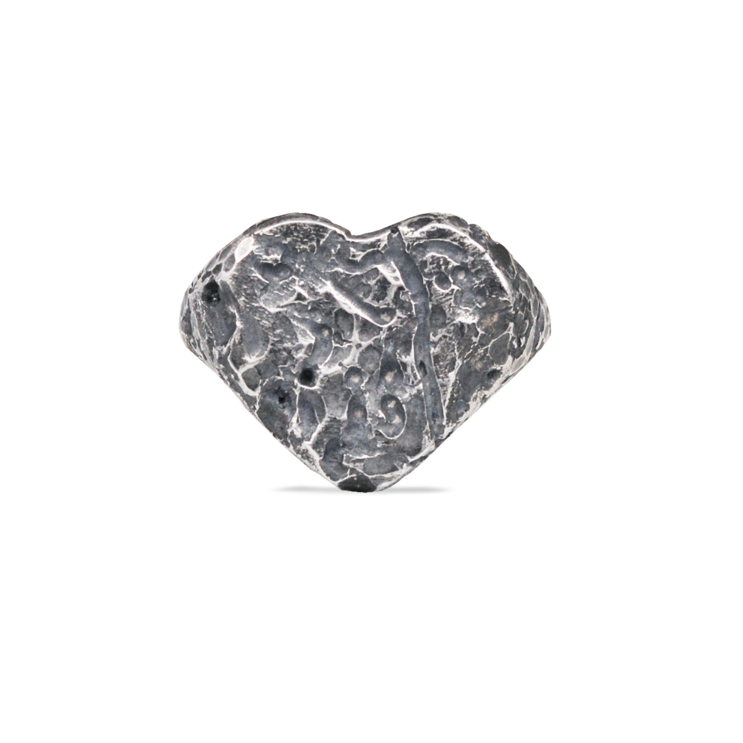 Esperidi  - Heart shaped silver ring by Rawsen