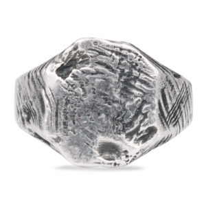 Ditte - Rawsen silver ring