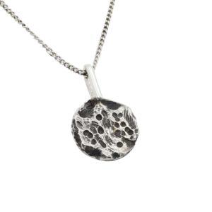 Collana con Medaglia in argento 925 Rawsen