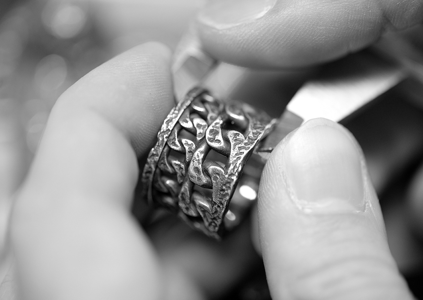 Let's find out how to clean Rawsen silver ring